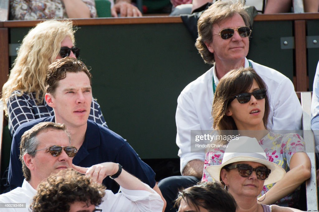 Actor <a gi-track='captionPersonalityLinkClicked' href=/galleries/search?phrase=Benedict+Cumberbatch&family=editorial&specificpeople=2487879 ng-click='$event.stopPropagation()'>Benedict Cumberbatch</a> and <a gi-track='captionPersonalityLinkClicked' href=/galleries/search?phrase=Sophie+Hunter+-+Actress&family=editorial&specificpeople=13688869 ng-click='$event.stopPropagation()'>Sophie Hunter</a> attend the Men's Final of Roland Garros French Tennis Open 2014 - Day 15 on June 8, 2014 in Paris, France.