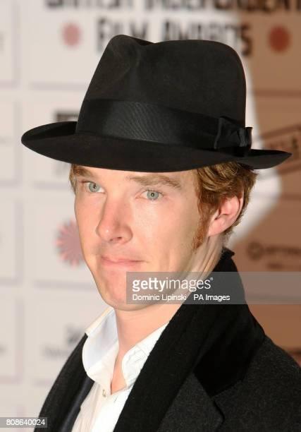 Actor Benedict Cumberbatch arrives at the Moet British Independent Film Awards at Old Billingsgate Market in central London