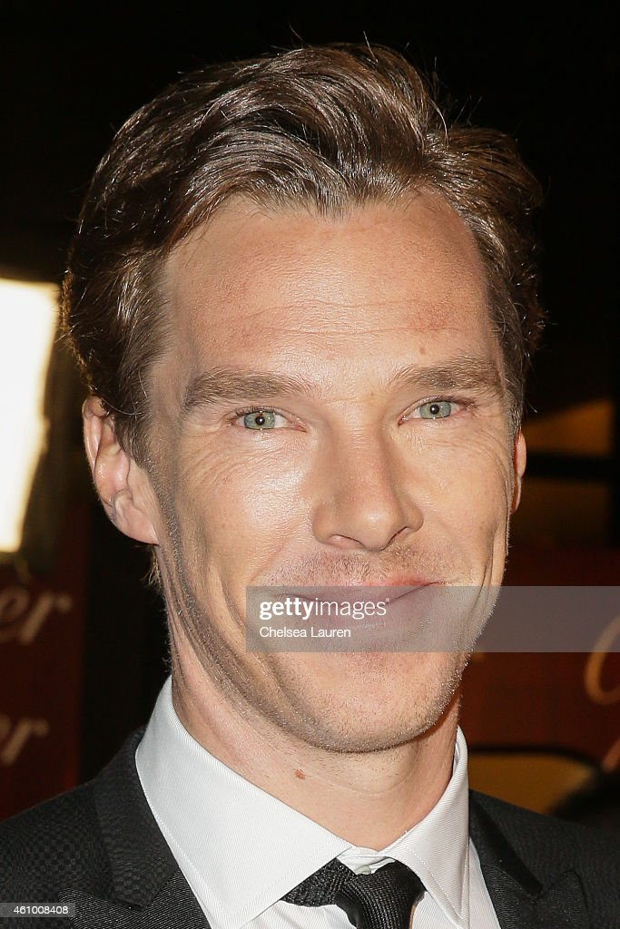 Actor Benedict Cumberbatch arrives with Mercedes-Benz at the 26th annual Palm Springs International Film Festival Awards Gala on January 3, 2015 in Palm Springs, California.