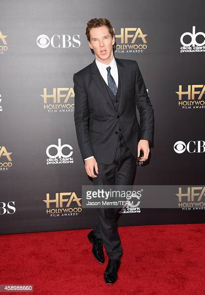 Actor Benedict Cumberbatch attends the 18th Annual Hollywood Film Awards at The Palladium on November 14 2014 in Hollywood California