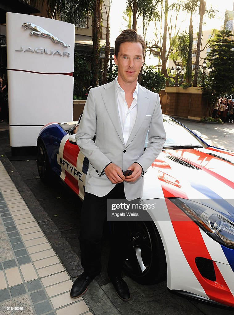 Actor <a gi-track='captionPersonalityLinkClicked' href=/galleries/search?phrase=Benedict+Cumberbatch&family=editorial&specificpeople=2487879 ng-click='$event.stopPropagation()'>Benedict Cumberbatch</a> attends the 2014 BAFTA Los Angeles Awards Season Tea Party presented by Jaguar Land Rover and Mulberry at the Four Seasons Hotel Los Angeles at Beverly Hills on January 11, 2014 in Los Angeles, California.