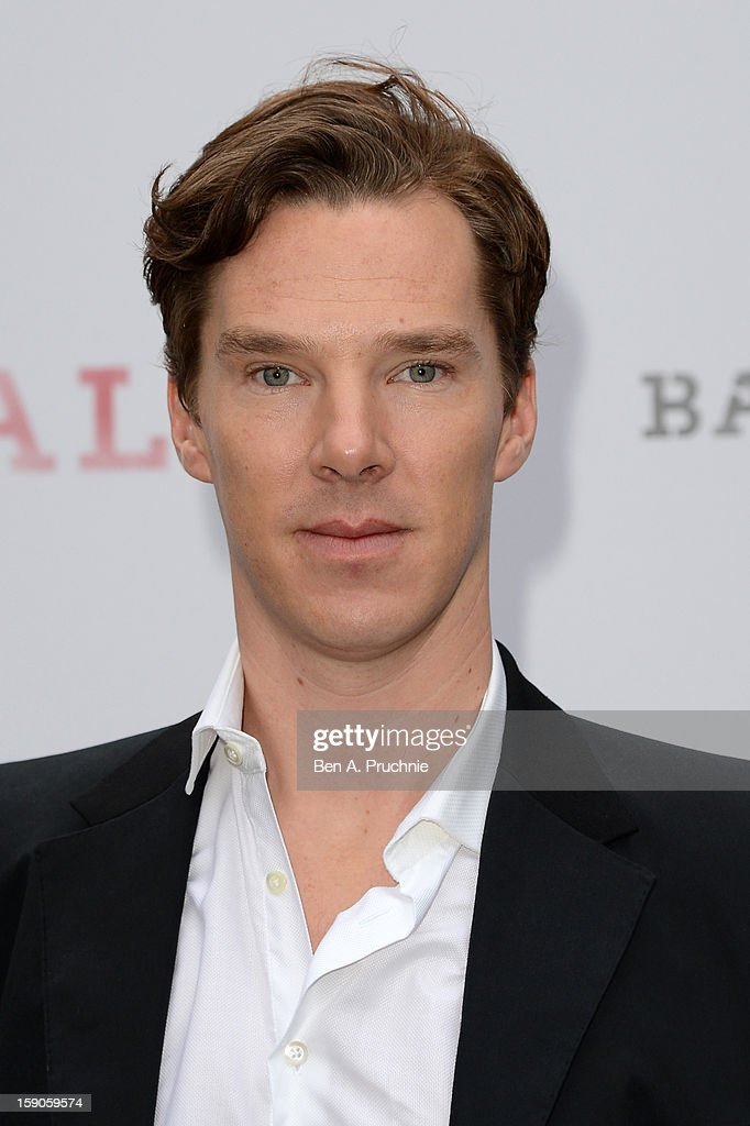 Actor Benedict Cumberbatch attends the 'BALLY Celebrates 60 Years of Conquering Everest' at Bedford Square Gardens on January 7, 2013 in London, England.