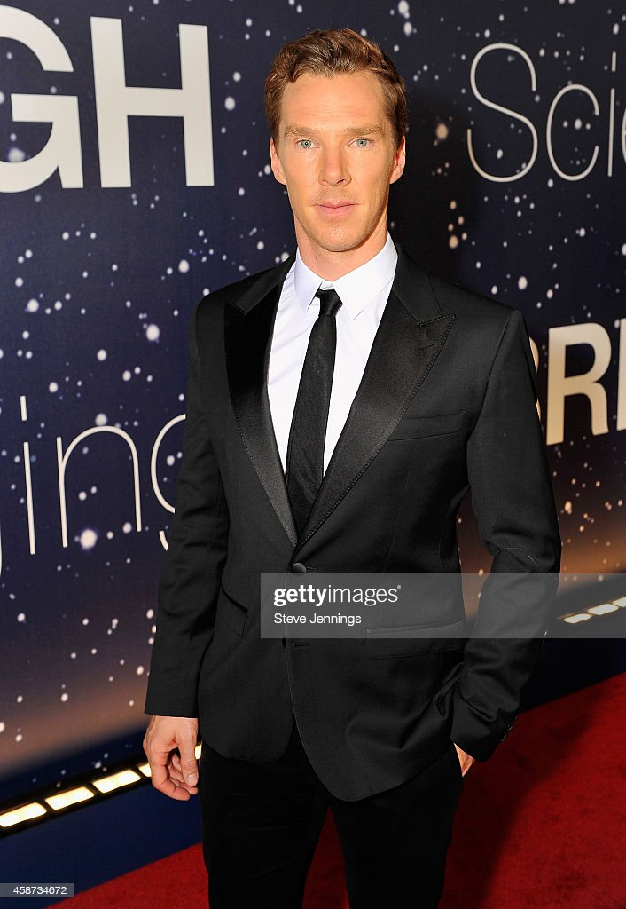 Actor Benedict Cumberbatch attends the Breakthrough Prize Awards Ceremony Hosted By Seth MacFarlane at NASA Ames Research Center on November 9, 2014 in Mountain View, California.