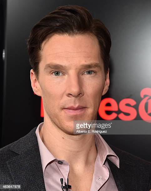 Actor Benedict Cumberbatch attends The New York Times' TimesTalk TIFF In Los Angeles Presents 'The Immitation Game' at The Paley Center for Media on...