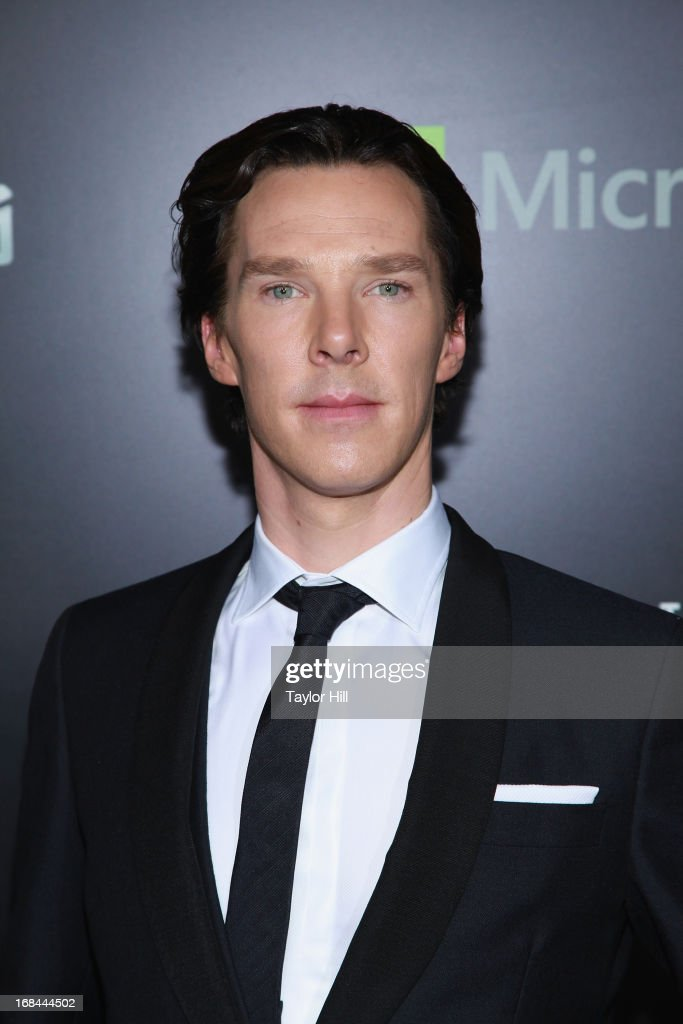 Actor <a gi-track='captionPersonalityLinkClicked' href=/galleries/search?phrase=Benedict+Cumberbatch&family=editorial&specificpeople=2487879 ng-click='$event.stopPropagation()'>Benedict Cumberbatch</a> attends the 'Star Trek Into Darkness' screening at AMC Loews Lincoln Square on May 9, 2013 in New York City.