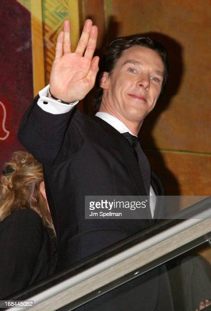 Actor Benedict Cumberbatch attends the 'Star Trek Into Darkness' screening at AMC Loews Lincoln Square on May 9 2013 in New York City