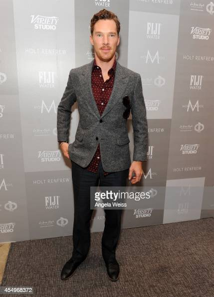 Actor Benedict Cumberbatch attends the Variety Studio presented by Moroccanoil at Holt Renfrew during the 2014 Toronto International Film Festival on...