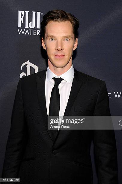 Actor Benedict Cumberbatch attends The Weinstein Company's Academy Awards Nominees Dinner in partnership with Chopard DeLeon Tequila FIJI Water and...