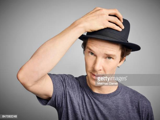 Actor Benedict Cumberbatch from 'Dr Strange' is photographed for Entertainment Weekly Magazine on July 23 2016 at Comic Con in the Hard Rock Hotel in...