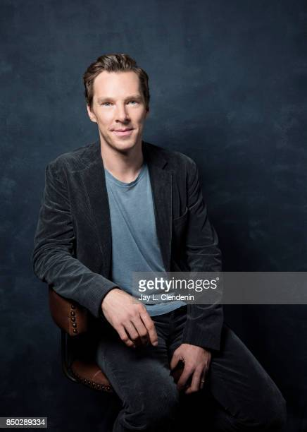 Actor Benedict Cumberbatch from the film 'The Current War' poses for a portrait at the 2017 Toronto International Film Festival for Los Angeles Times...