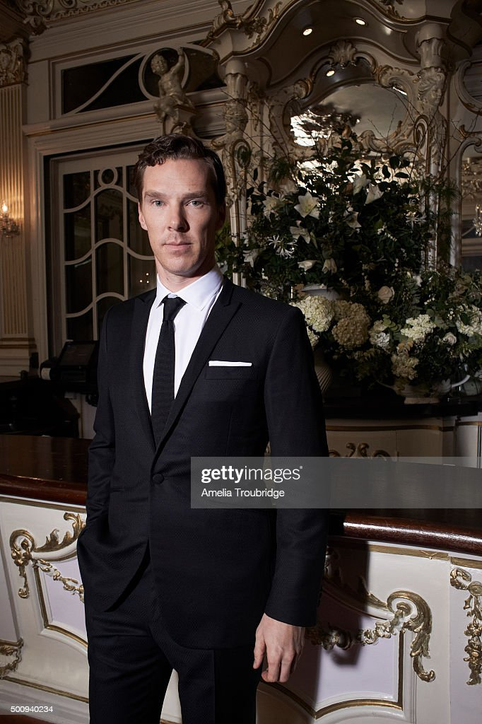 Actor Benedict Cumberbatch is photographed for ES magazine on September 8, 2014 in London, England.
