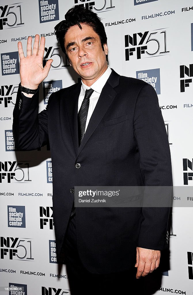 Actor Benicio del Toro attends the 'Jimmy