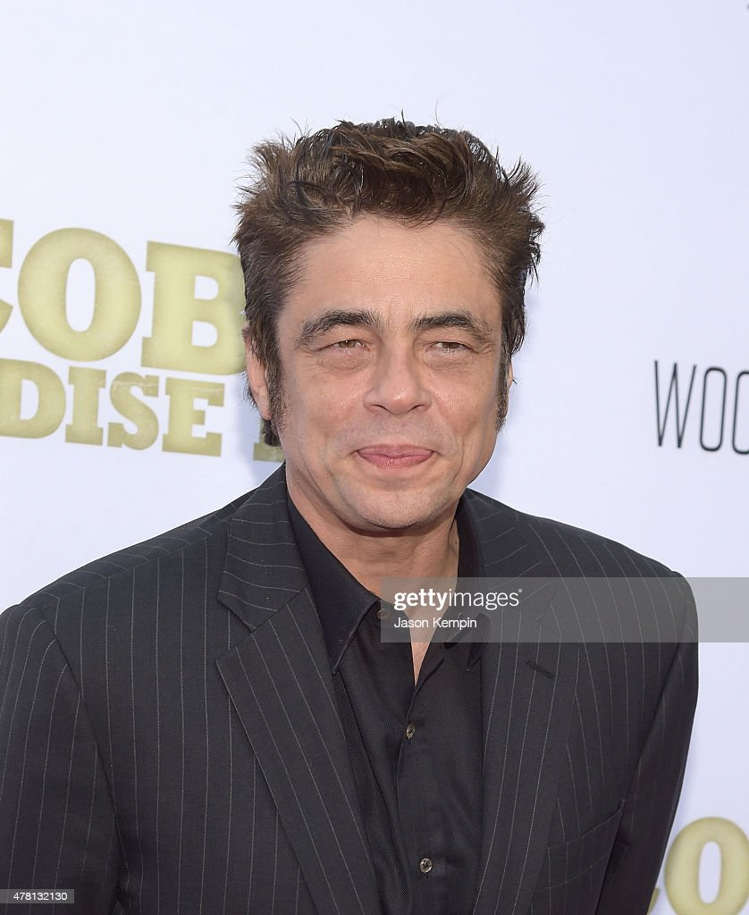 Actor Benicio del Toro attends the premiere of 'Escobar Paradise Lost' at ArcLight Hollywood on June 22 2015 in Hollywood California