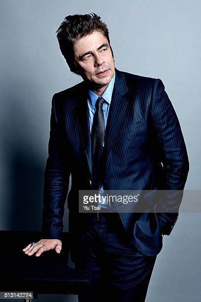 Actor Benicio Del Toro is photographed at the Toronto Film Festival for Variety on September 12 2015 in Toronto Ontario