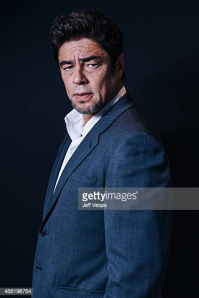 Actor Benicio del Toro is photographed for a Portrait Session at the 2014 Toronto Film Festival on September 10 2014 in Toronto Ontario