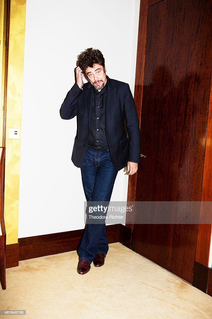 Actor <a gi-track='captionPersonalityLinkClicked' href=/galleries/search?phrase=Benicio+Del+Toro&family=editorial&specificpeople=203277 ng-click='$event.stopPropagation()'>Benicio Del Toro</a> is photographed for Grazia on October 21, 2014 in Paris, France.