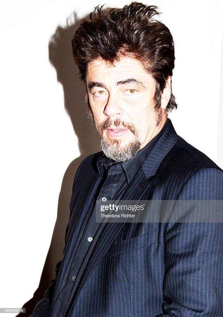 Actor <a gi-track='captionPersonalityLinkClicked' href=/galleries/search?phrase=Benicio+Del+Toro&family=editorial&specificpeople=203277 ng-click='$event.stopPropagation()'>Benicio Del Toro</a> is photographed for Grazia on October 21, 2014 in Paris, France.