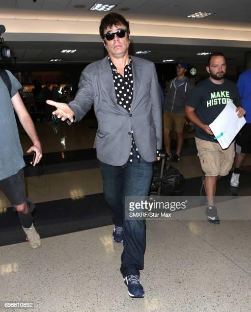Actor Benicio Del Toro is seen on June 20 2017 in Los Angeles California
