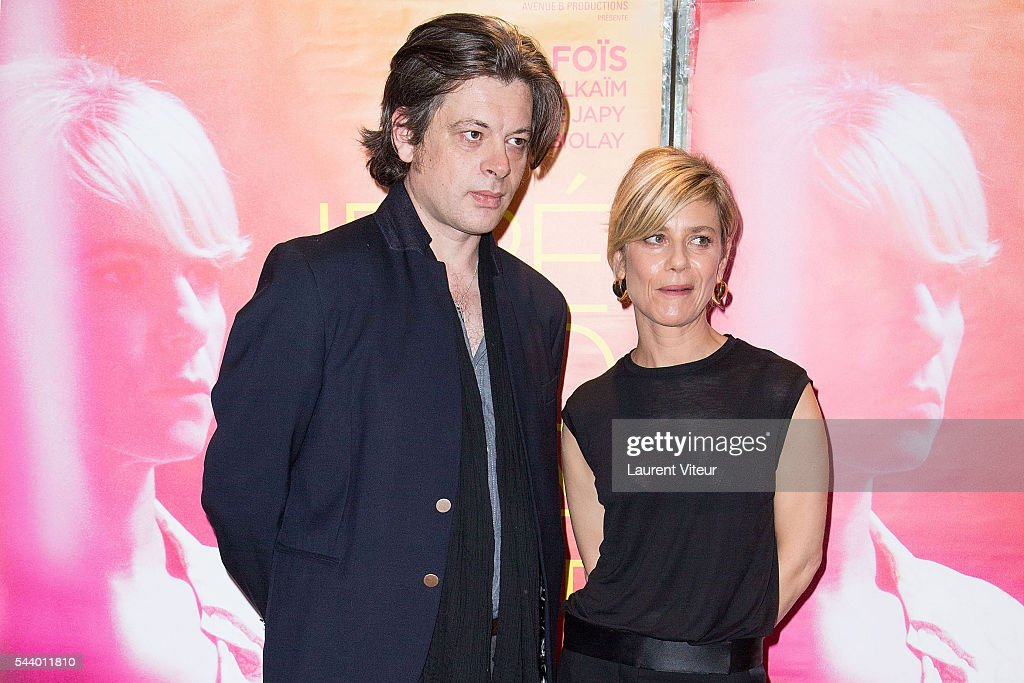 Actor <a gi-track='captionPersonalityLinkClicked' href=/galleries/search?phrase=Benjamin+Biolay&family=editorial&specificpeople=4451581 ng-click='$event.stopPropagation()'>Benjamin Biolay</a> and Actress <a gi-track='captionPersonalityLinkClicked' href=/galleries/search?phrase=Marina+Fois&family=editorial&specificpeople=760498 ng-click='$event.stopPropagation()'>Marina Fois</a> attend 'Irreprochable' Paris Premiere at UGC Cine Cite des Halles on June 30, 2016 in Paris, France.