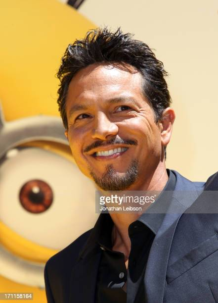 Actor Benjamin Bratt arrives at the 'Despicable Me 2' premiere at Universal CityWalk on June 22 2013 in Universal City California