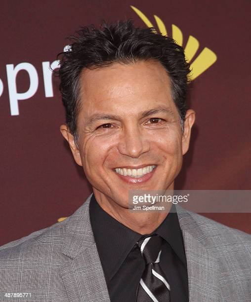 Actor Benjamin Bratt attends '24 Live Another Day' World Premiere at Intrepid Sea on May 2 2014 in New York City