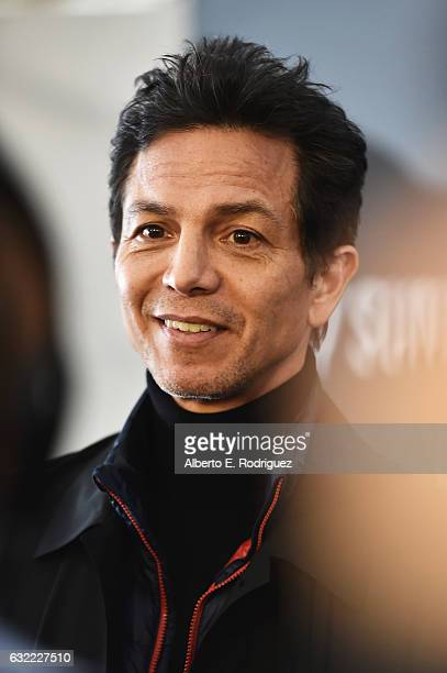 Actor Benjamin Bratt attends the 'Dolores' premiere during day 2 of the 2017 Sundance Film Festival at Library Center Theater on January 20 2017 in...