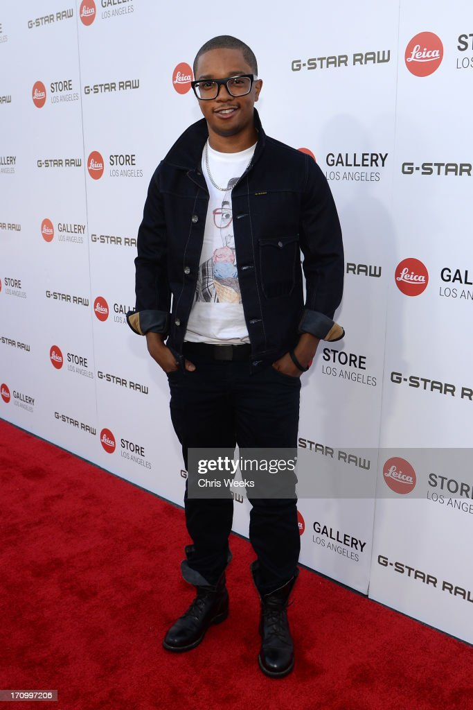 Actor Benjamin Charles Watson in G-Star attends G-Star RAW unveils RAW Leica at the Leica store opening on June 20, 2013 in West Hollywood, California.