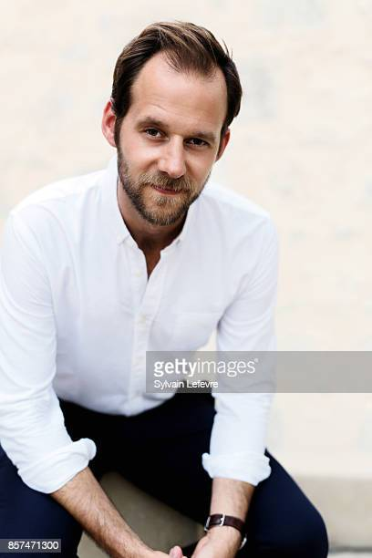Actor Benjamin Lavernhe is photographed for Self Assignment on August 26 2017 in Angouleme France