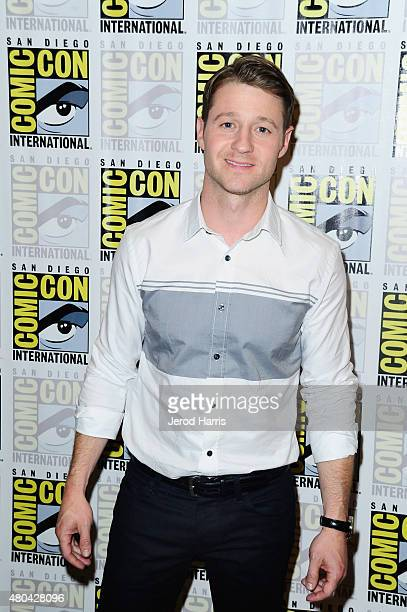 Actor Benjamin McKenzie attends the 'Gotham' press room during ComicCon International 2015 at the Hilton Bayfront on July 11 2015 in San Diego...