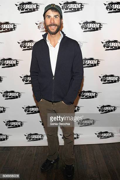 Actor Benjamin Silverman attends the Donovan Leitch Performance at Sundance at Cisero's Bar on January 22 2016 in Park City Utah