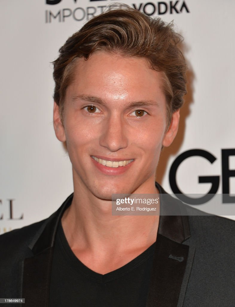Actor Benjamin Stone arrives to Genlux Magazine's Issue Release party featuring Erika Christensen at The Sofitel Hotel on August 29, 2013 in Los Angeles, California.