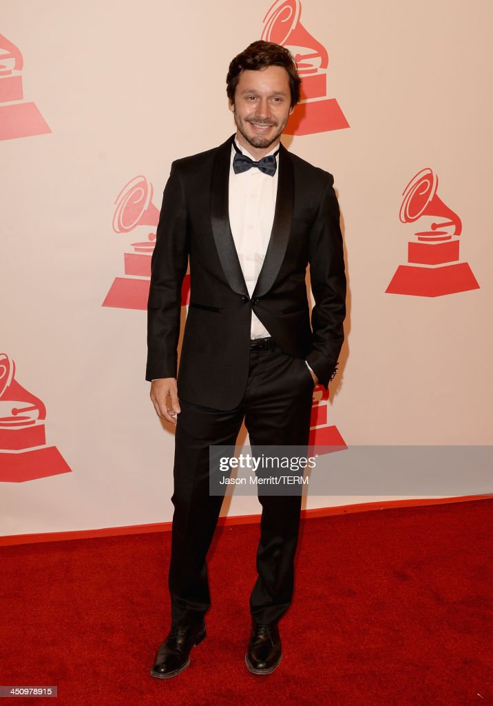 Actor Benjamin Vicuna Luco arrives at the 2013 Latin Recording Academy Person Of The Year honoring Miguel Bose at the Mandalay Bay Convention Center on November 20, 2013 in Las Vegas, Nevada.