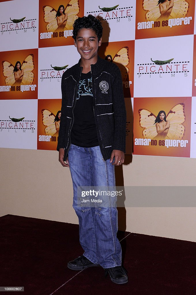 Actor Benny Morales poses for a photograph during a press conference to present the movie 'Amar no es Querer' at Marriot Hotel on May 19, 2010 in Mexico City, Mexico.