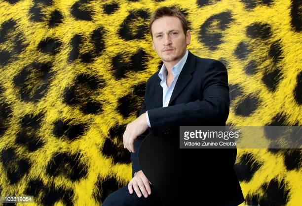 Actor Benoit Magimel attends 'L'Avocat' photocall during the 63rd Locarno Film Festival on August 9 2010 in Locarno Switzerland
