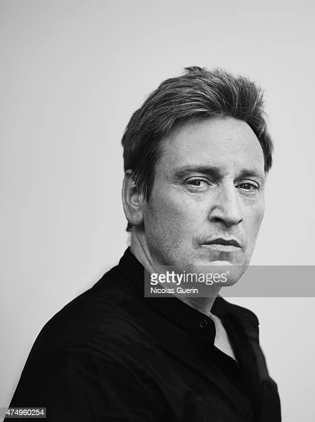 Actor Benoit Magimel is photographed on May 13 2015 in Cannes France
