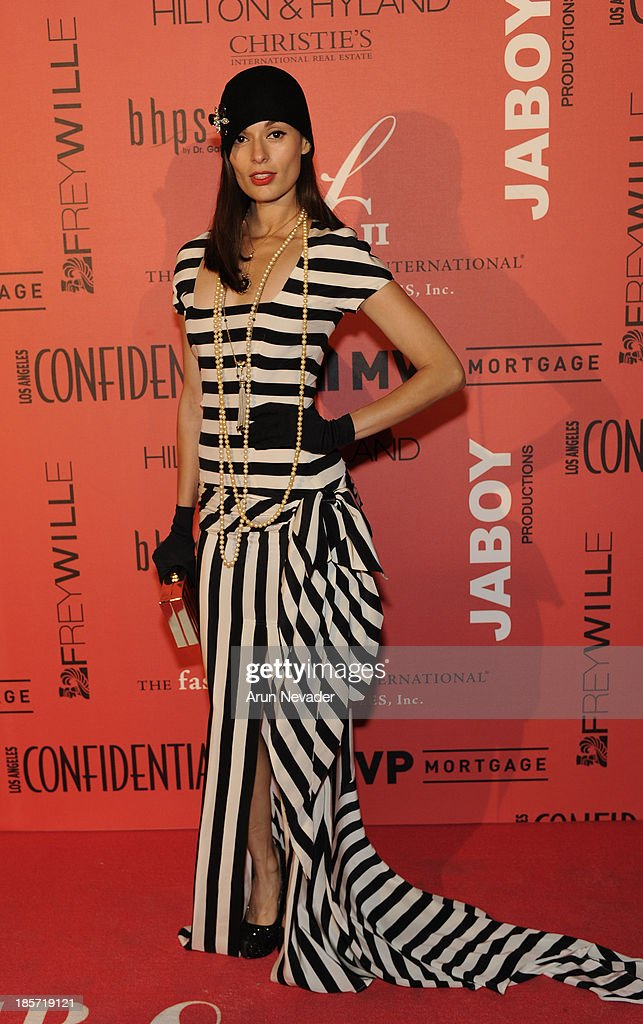 Actor Berenice Noriega arrives at the 5th Annual Designer & The Muse Hosted By Kathy Hilton at Mr. C Beverly Hills on October 23, 2013 in Beverly Hills, California.