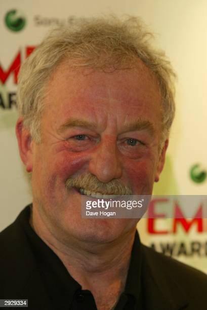 Actor Bernard Hill arrives at the 'Sony Ericsson Empire Film Awards' at The Dorchester Hotel on February 4 2004 in London