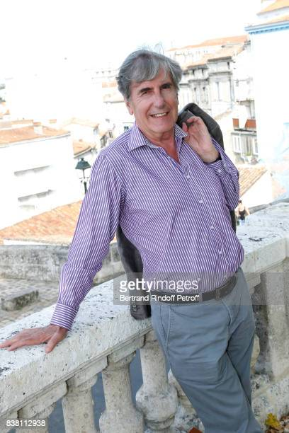 Actor Bernard Menez attends the 10th Angouleme FrenchSpeaking Film Festival Day Two on August 23 2017 in Angouleme France