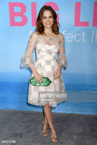 Actor Bethany Joy Lenz attends the premiere of HBO's 'Big Little Lies' at the TCL Chinese Theater on February 7 2017 in Hollywood California