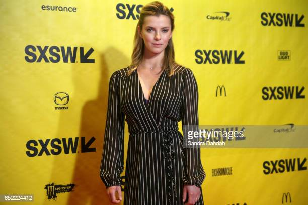 Actor Betty Gilpin attends the premiere of 'American Gods' during 2017 SXSW Conference and Festivals at Vimeo on March 11 2017 in Austin Texas