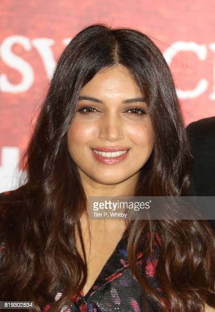 Actor Bhumi Pednekar attending the 'Toilet Ek Prem Katha ' Photocall the worlds first feature film on the opendefecation crisis at The Bentley Hotel...