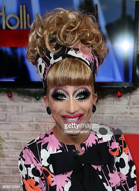 Actor Bianca Del Rio visits Hollywood Today Live at W Hollywood on December 7 2016 in Hollywood California