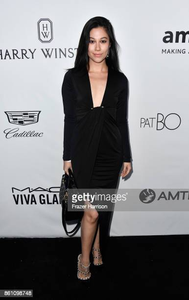 Actor Bianca Stam attends the amfAR Gala at Ron Burkle's Green Acres Estate on October 13 2017 in Beverly Hills California