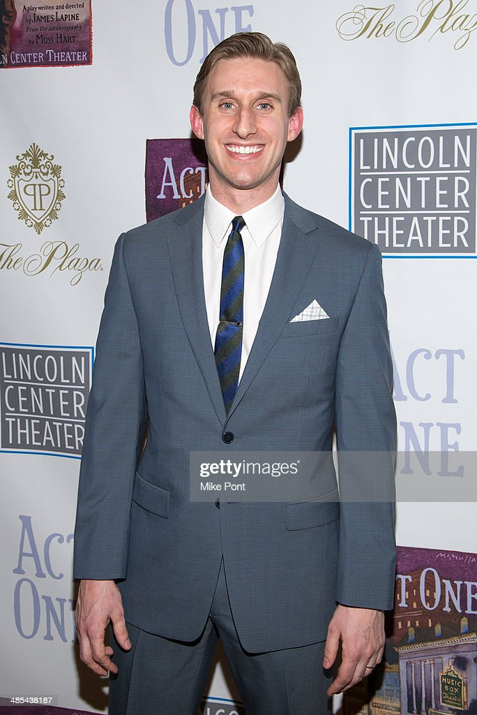 Actor Bill Army attends the opening night party for 'Act One' at The Plaza Hotel on April 17, 2014 in New York City.