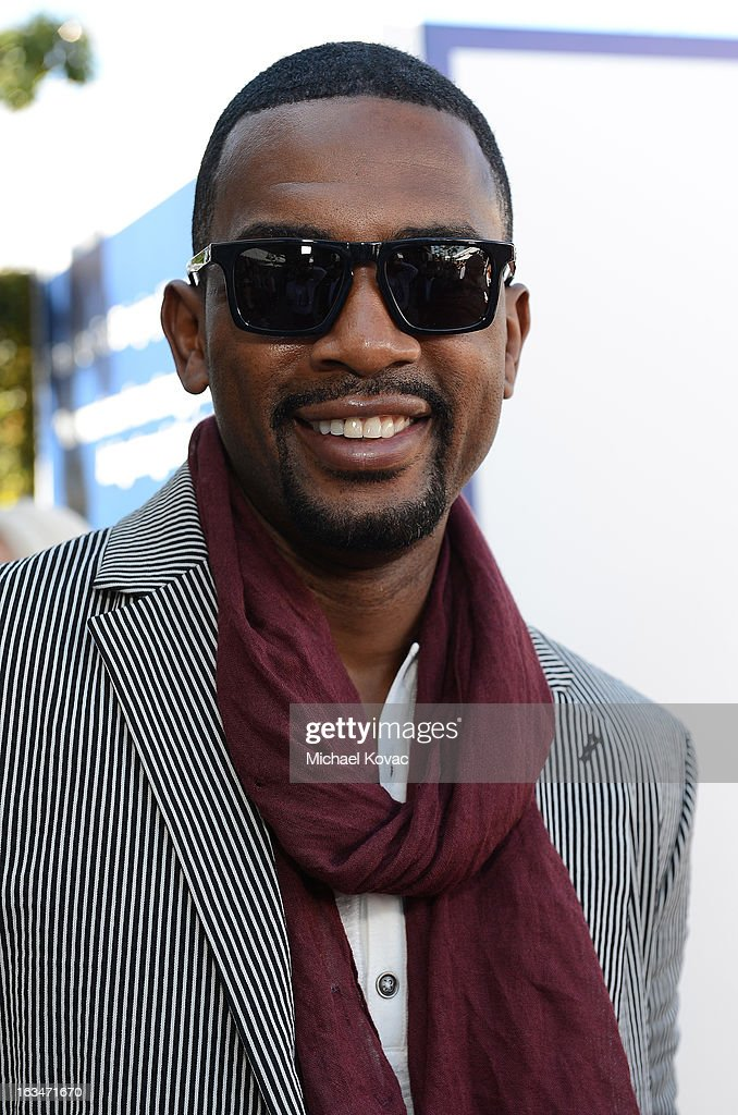 Actor Bill Bellamy wearing John Varvatos Eyewear at the 10th Annual Stuart House Benefit presented by Chrysler at John Varvatos Los Angeles on March 10, 2013 in Los Angeles, California.