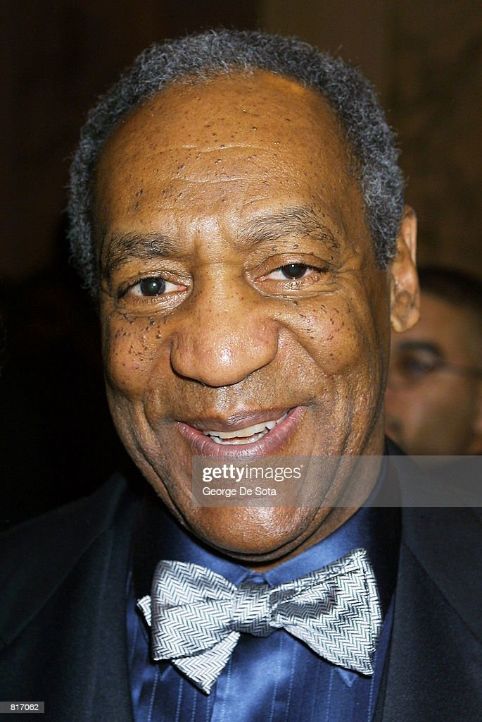 Actor <a gi-track='captionPersonalityLinkClicked' href=/galleries/search?phrase=Bill+Cosby&family=editorial&specificpeople=206281 ng-click='$event.stopPropagation()'>Bill Cosby</a> acts as the Master of Ceremonies March 12, 2001 at The Jackie Robinson Foundation 2001 Awards Dinner at The Waldorf Astoria Hotel in New York City.