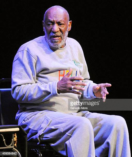 Actor Bill Cosby performs at the King Center for the Performing Arts on November 21 2014 in Melbourne Florida