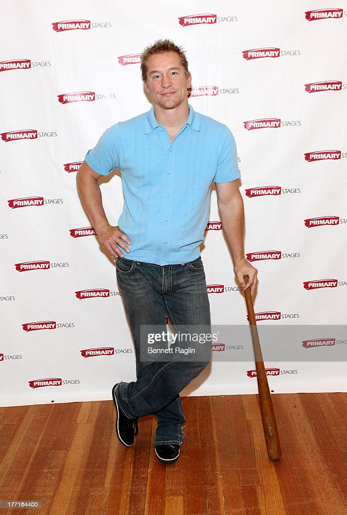 Actor Bill Dawes attends the cast meet and greet for the upcoming Off-Broadway production 'Bronx Bombers' at Playwrights Horizons Rehearsal Studios on August 21, 2013 in New York City.