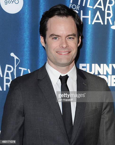Actor Bill Hader arrives at James Franco's Bar Mitzvah Hilarity For Charity's 4th Annual Variety Show at Hollywood Palladium on October 17 2015 in...