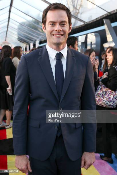 Actor Bill Hader arrives at the premiere of Lionsgate's 'Power Rangers' at the Westwood Village Theatre on March 22 2017 in Westwood California